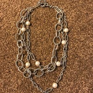 Premier Designs 3 stand necklace